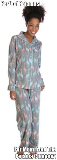 Perfect Pajamas For Mom from The Pajama Company