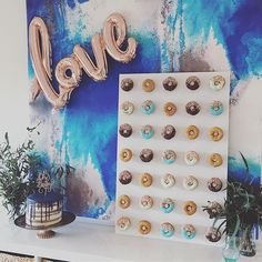 Baby shower Donut & Sweets Table