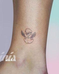 20 Lovely Light & Disturbingly Dark Angel Tattoos Informations About 20 Lovely Light & Disturbingly Dainty Tattoos, Baby Tattoos, Line Tattoos, Foot Tattoos, Sleeve Tattoos, Small Feminine Tattoos, Cute Small Tattoos, Tatoos, Dark Angel Tattoo