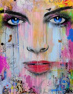 """Saatchi Art Artist LOUI JOVER; Painting, """"all or none (SOLD)"""" #art"""