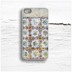 iPhone 4 and iPhone 4S case Old Tile Pattern Tile by HelloNutcase, $19.00
