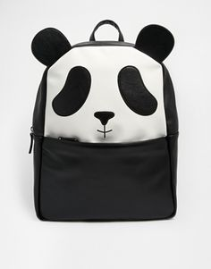 33a39acd6960 ASOS Panda Backpack Cool Backpacks