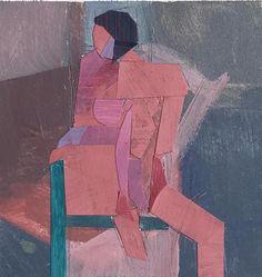 Collage Figure II - Susan Trott