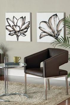 "Lotus Shutter Grande Wall Art - 24"" x 24"" by Functional Wall Decor by Nexxt on @HauteLook"