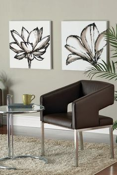 "Lotus Shutter Grande Wall Art - 24"" x 24"" by Functional Wall Decor by Nexxt on @HauteLook"