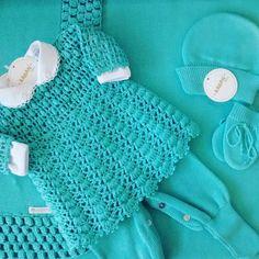 SM2 Moda Crochet, Crochet Baby Clothes, Crochet For Boys, Baby Dress, Lace Shorts, Booty, Sweaters, Catalogue, Crocheting