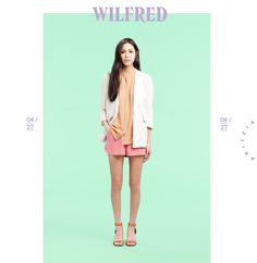 Aritzia:    The Wilfred Tali Blazer in linen, The Wilfred Tigris Sleeveless Blouse, The Wilfred Nava Shorts
