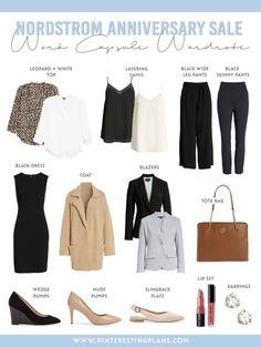Click here to check out this Nordstrom Anniversary Sale Workwear Capsule Wardrobe recap on Pinteresting Plans! Best liketoknowit outfits summer and shop your wardrobe outfit ideas. Learn where to shop for clothes women outfit ideas. Get the best Nordstrom anniversary sale 2020. Nordstrom anniversary sale 2019 outfits. Cute workwear women office capsule and workwear fashion the office professional women. Best work fashion office professional attire workwear. #sale #nordstrom #nsale Workwear Fashion, Workwear Women, Work Fashion, Fall Fashion, Professional Attire, Professional Women, Corporate Outfits, Nordstrom Anniversary Sale, Capsule Wardrobe