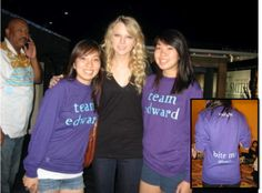 Picture of Twilight To Taylor Custom T-Shirt Design