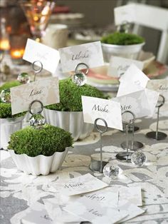 moss @Rebekah Benton for place cards if you need them...thought they were cute