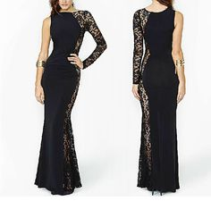 Hey, I found this really awesome Etsy listing at https://www.etsy.com/listing/187362125/party-dress-black-dress-long-dress-sexy