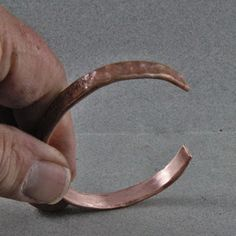 Learn how to make this cool copper bracelet made from refrigeration tubing from The Home Depot.