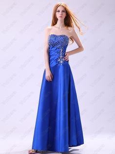 Sweetheart Luxury Blue Celebrity Dresses – Order Link: www. Waist: Natural – Price: Source by servicewedding Royal Blue Bridesmaid Dresses, Royal Blue Dresses, Satin Dresses, Strapless Dress Formal, Bride Dresses, Formal Dresses, Cheap Evening Dresses, Cheap Prom Dresses, Pageant Dresses