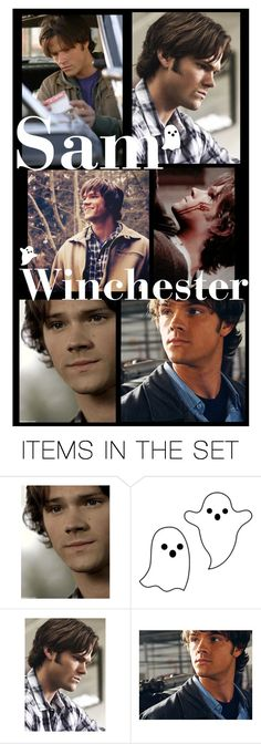 """Young Sammy Wallpaper👻💕"" by aj-luh ❤ liked on Polyvore featuring art, supernatural, samwinchester and wallpaper"