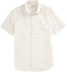 Steven Alan Bug Print Short Sleeve Shirt at Barneys.com