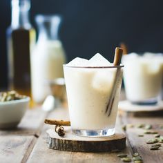Spiced Pumpkin Seed Maple Horchata (with Calvados) | The Bojon Gourmet