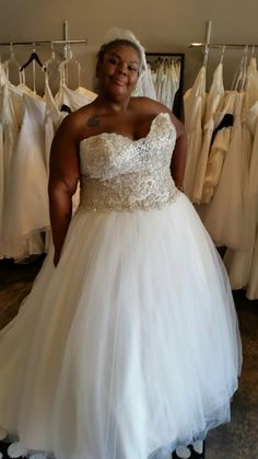 You have got to check out this plus size bridal and bridesmaid ...