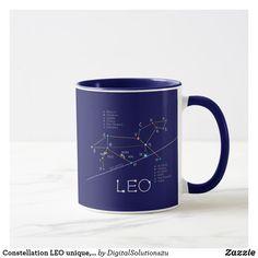 Constellation LEO unique, elegant Mug