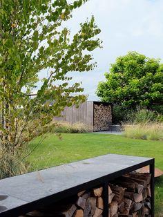 Small Gardens, Outdoor Gardens, Terraced Landscaping, Weekend House, Landscape Architecture Design, Fire Pit Backyard, Ornamental Grasses, Garden Projects, Garden Bridge