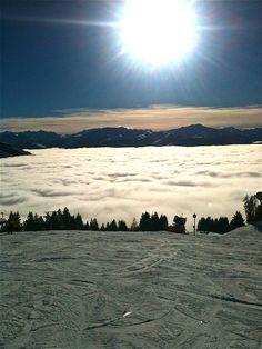 into the sun, Kirchberg Austria