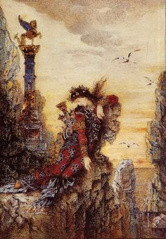 "Gustave Moreau -    do you know that Gustave Moreau was the ""professor"" of the 3 first/main ""FAUVE"" painters, Matisse, Marquet & Manguin ? incredible !"