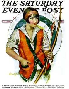 Saturday Evening Post. Ellen Pyle 1927