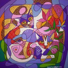Kedici Ressam Sedef Yılmabaşar Ertugan/Cat Painter