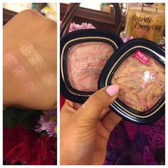 Wet n Wild Fergie Shimmer Palettes in Rose Champagne Glow & Hollywood Boulevard