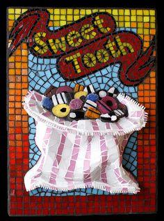 Sweet Tooth | by Angela Ibbs Mosaics at BreezyB5