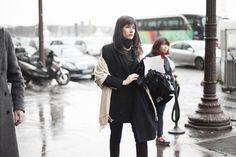 Street style en la alta costura de Paris primavera verano 2013