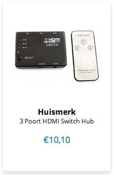 3 Poort HDMI Switch Hub www.ovstore.nl/nl/huismerk-3-poort-hdmi-switch-hub.html
