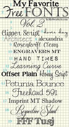 My-Favorite-Fonts---Vol-2