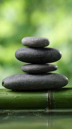 zen rocks 1 wallpaper by philvb - 63 - Free on ZEDGE™ Bamboo Wallpaper, Stone Wallpaper, Nature Wallpaper, Wallpaper Wallpapers, Pimple Mask, Meditation Pictures, Zen Rock, Anti Aging Eye Cream, Pebble Art