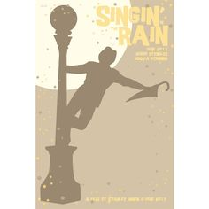 Singin' in the Rain 12x18 inches movie poster. £12.00, via Etsy.