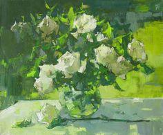 Андрей Павленкович Pavlenkovich Andrey Summer Bouquet, J.M. 50 x60, 2014 G.