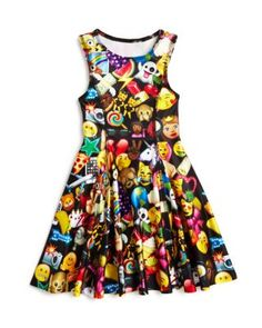Terez Girls' Emoji Dress, Sizes S-XL - 100% Bloomingdale's Exclusive…