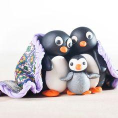Creator's Joy: Polymer clay penguin tutorial