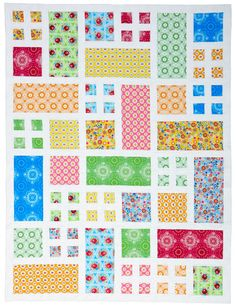 Patio's other life as the Taking Turns quilt - Quilts and More Spring 2012 by Happy Zombie, via Flickr