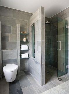 65 Stunning Contemporary Bathroom Design Ideas To Inspire Your Next Renovation -. 65 Stunning Contemporary Bathroom Design Ideas To Inspire Your Next Renovation - Gravetics Contemporary Bathroom Designs, Bathroom Layout, Modern Bathroom Design, Bathroom Interior Design, Modern Bathrooms, Contemporary Design, Bathroom Mirrors, Interior Modern, Bathroom Storage