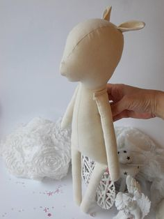 PDF sewing pattern for Blank Fawn Doll  for crafting 21