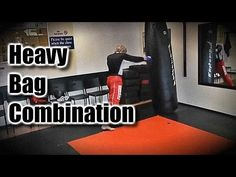 Heavy Bag Muay Thai and Kickboxing Combination
