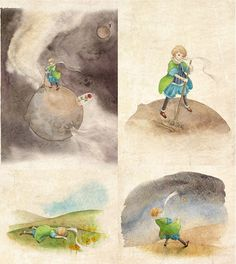 Sketches and Journeys: The Little Prince by Ya-Ong Nero