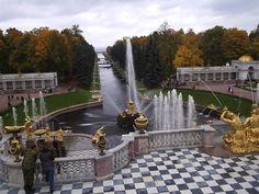 Rusko, Petrohrad-Peterhof-Park 2