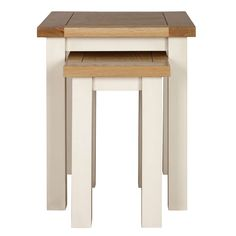 Henley Cream Nest Of Tables | Dunelm