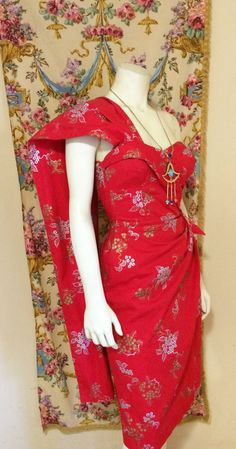 Vintage 1950 Alfred Shaheen Hawaiian Sarong by TorchSingerVintage - I've never…