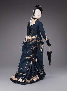 Dress 1874-1875 The Museum of Fine Arts, Boston