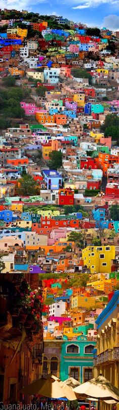 Okay, I want to go there just so I can see all this color at once! Guanajuato, Mexico | Incredible Pictures