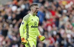 Goalkeeper Jordan Pickford was full of emotion at the end of the contest against West Brom as struggling Sunderland salvaged a very valuable point