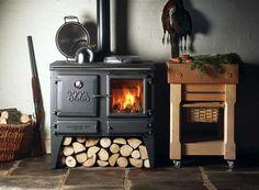 Poêle à bois chauffage et cuisinier