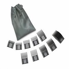 Oster Universal Hair Clipper Comb Attachments- 10pc Pouch Set * This is an Amazon Affiliate link. To view further for this item, visit the image link.